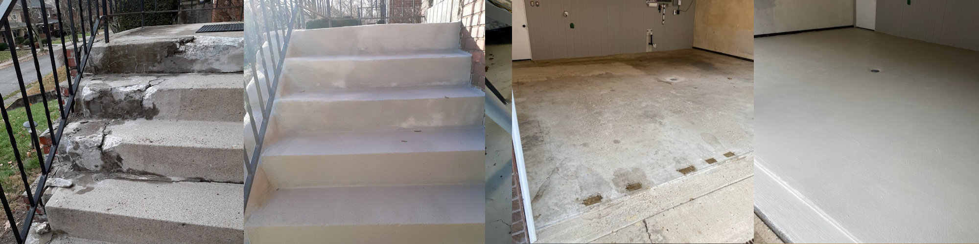 Foundation Stabilization, Concrete repair and Restoration, Power Wash and Sealing, Basement Moisture Prevention